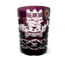 Load image into Gallery viewer, Amethyst Claddagh Whiskey Glass
