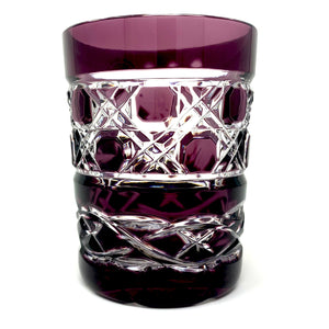 Amethyst Claddagh Whiskey Glass