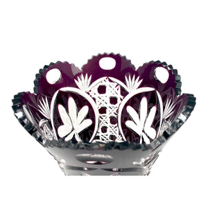 Limited Edition Amethyst Shamrock Vase