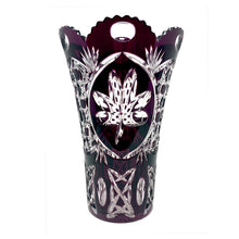 Load image into Gallery viewer, Limited Edition Amethyst Shamrock Vase