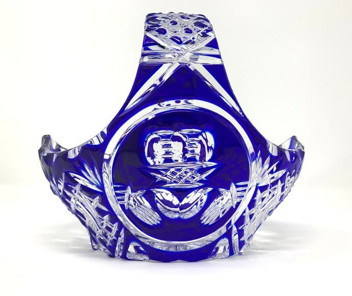 Blue Claddagh Basket