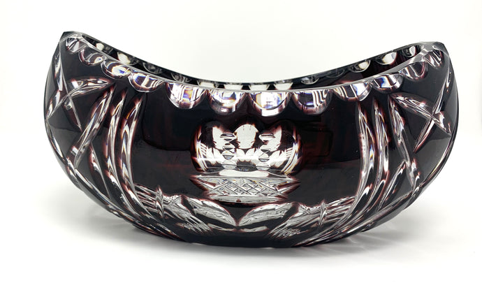 Amethyst Claddagh Boat Bowl - One of a Kind