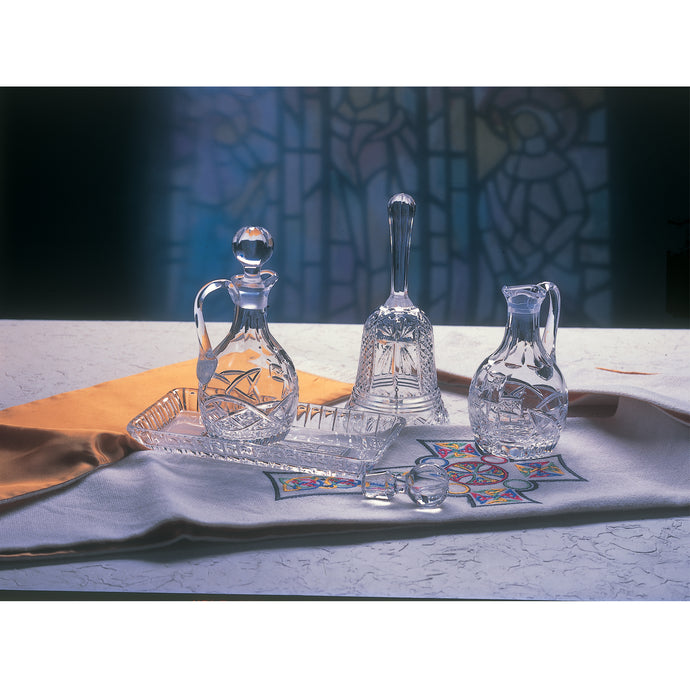 Cross of Cong Crystal Cruet Set