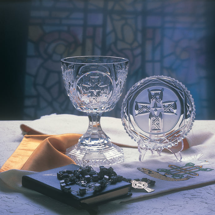 Cross of Cong Crystal Church Chalice and Paten