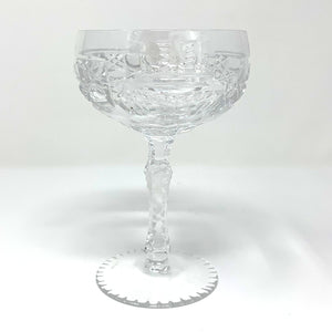 Claddagh Saucer Champagne Glass