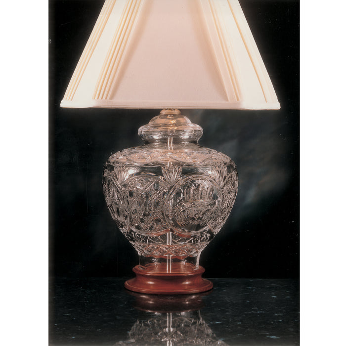 Claddagh Crystal Table Lamp