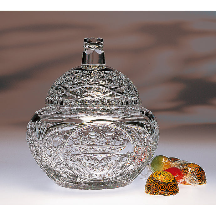 Claddagh Dome Lid Candy Bowl