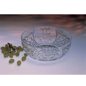 Claddagh Crystal Fruit Bowl