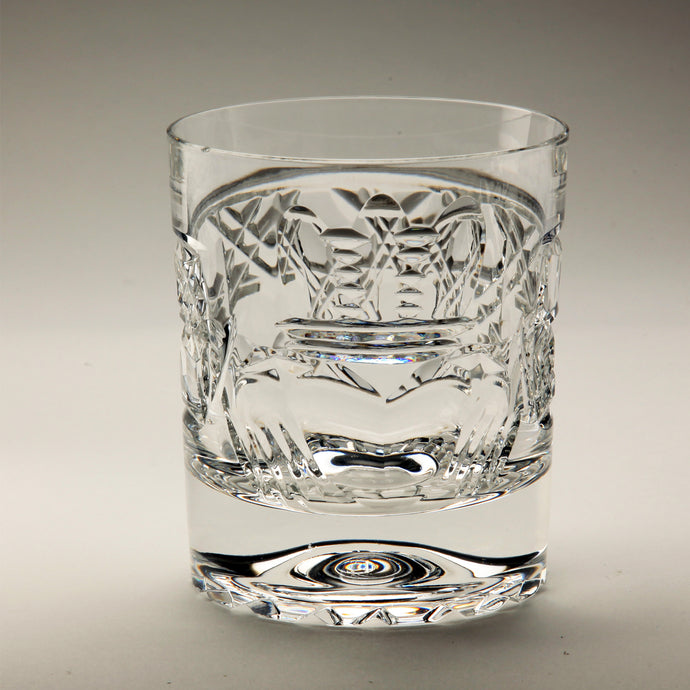 Claddagh Crystal Whiskey Glass