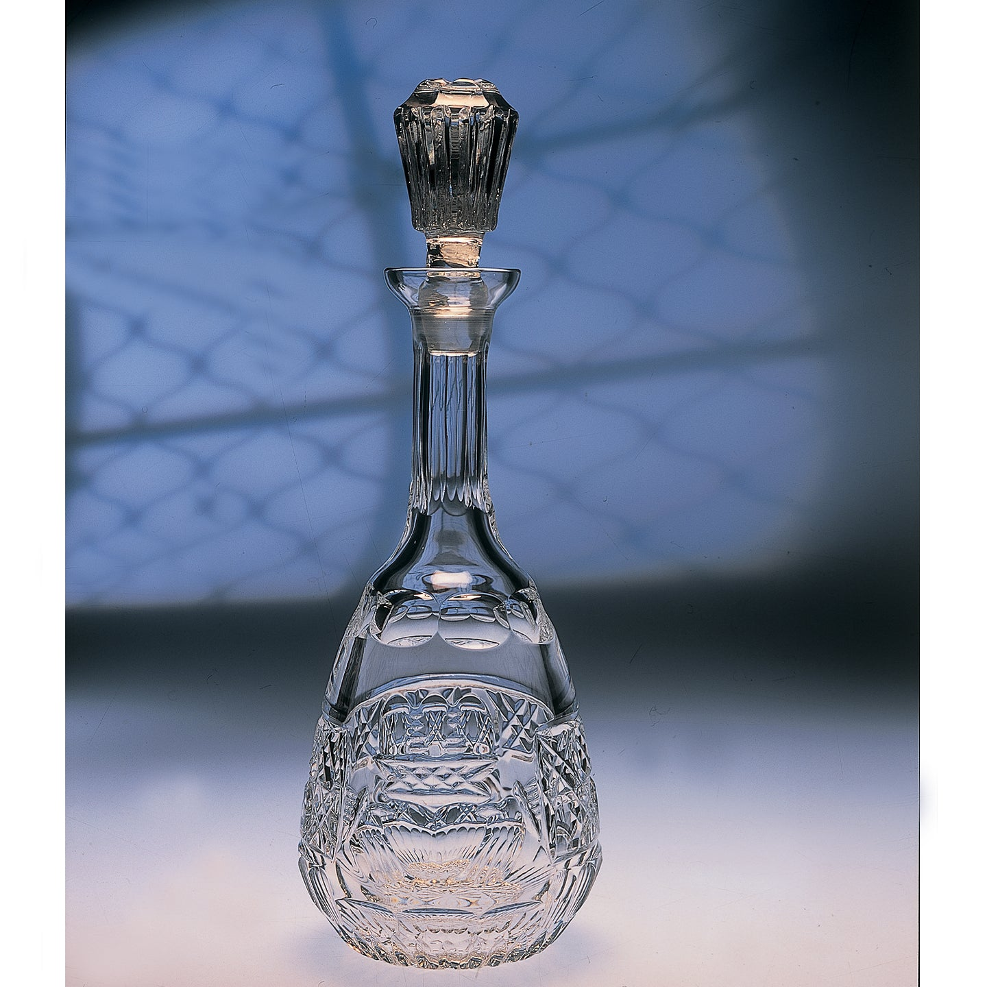 Claddagh Crystal Wine Decanter