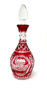 Red Claddagh Wine Decanter