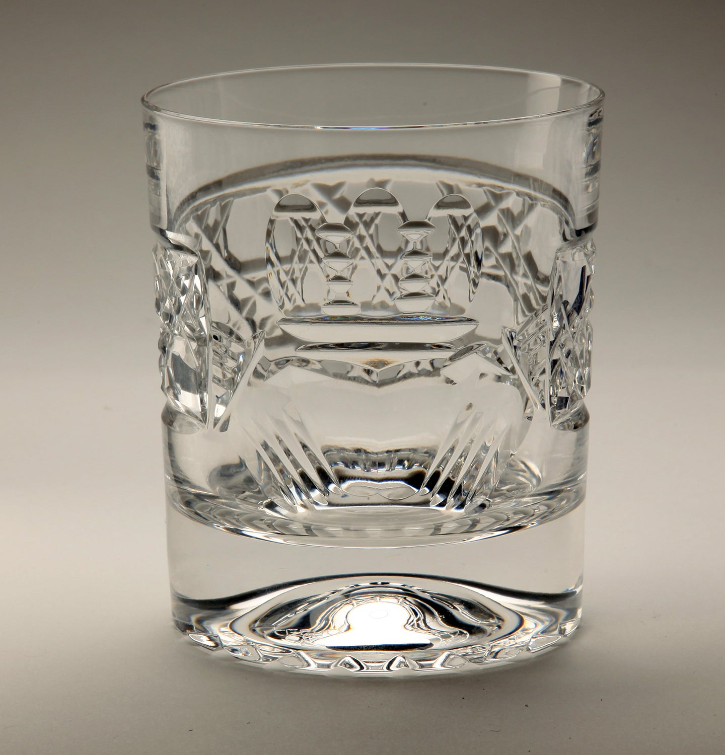 Claddagh 'Old Fashioned' Crystal Whiskey Tumbler
