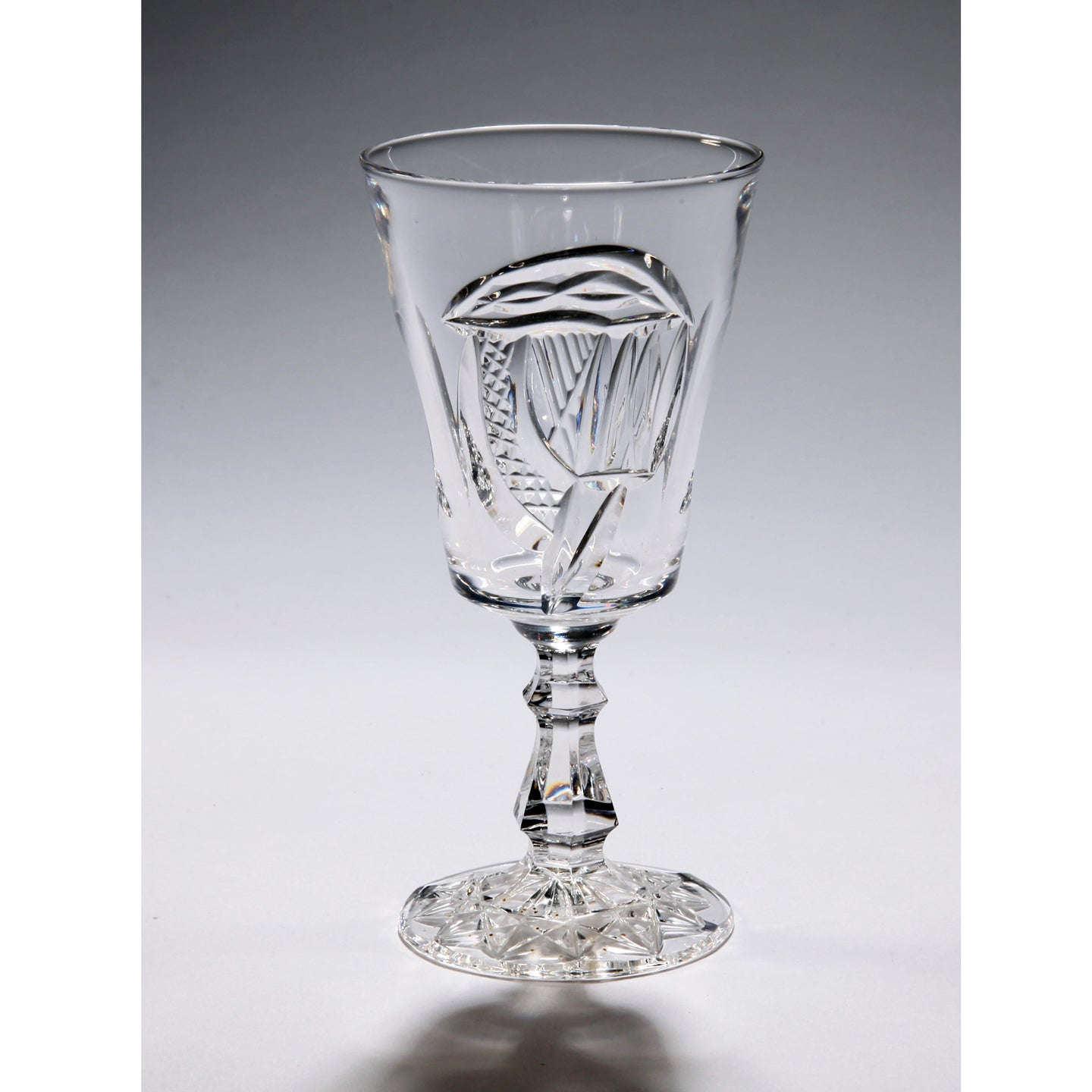 Mise Eire Crystal Sherry Glass