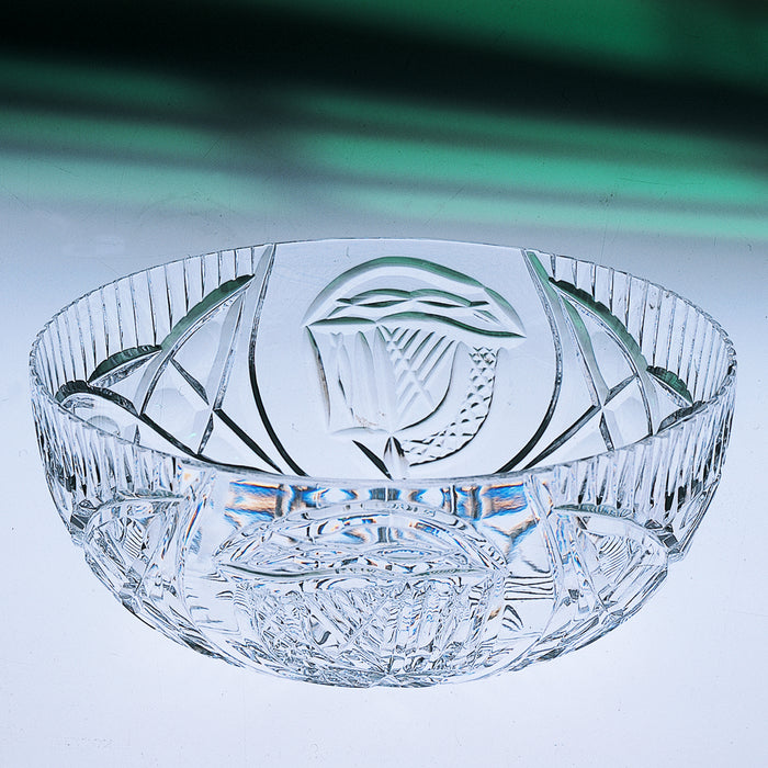 Mise Eire Crystal Fruit Bowl