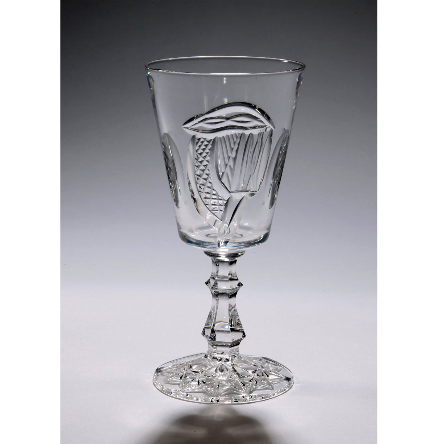 Mise Eire Crystal Water Goblet