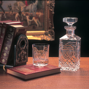 Mise Eire Crystal Whiskey Decanter