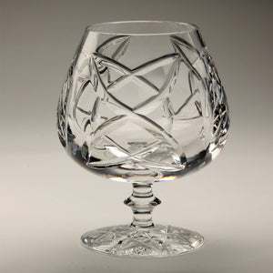 Old Celtic Crystal Brandy Snifter