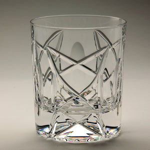 Old Celtic Crystal Whiskey Glass