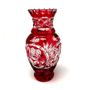 Red Claddagh Limited Edition Vase