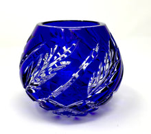 Load image into Gallery viewer, Blue Wheat Rose Bowl