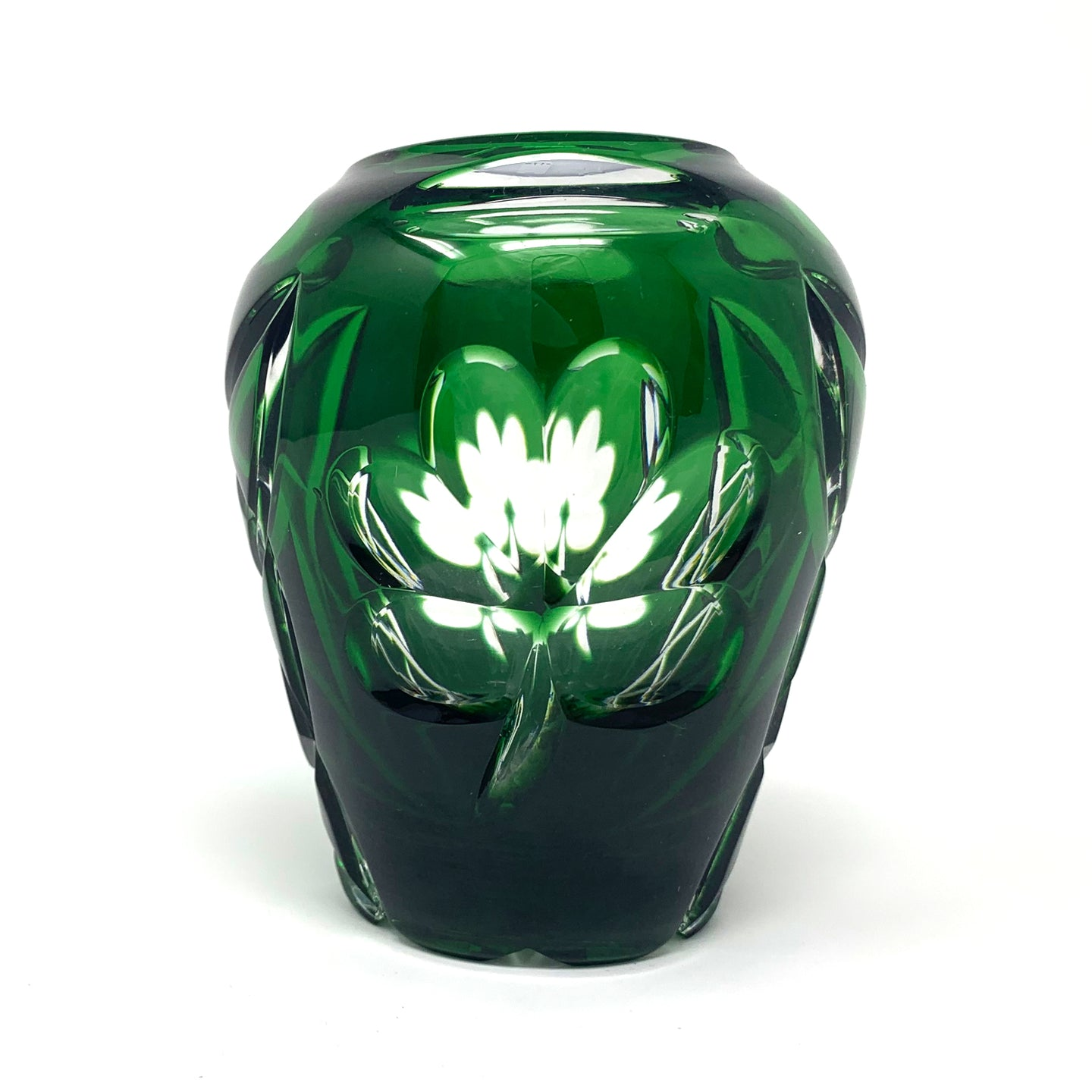 Emerald Green Shamrock Limited Edition Vase