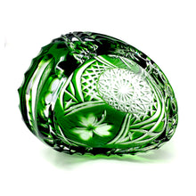 Load image into Gallery viewer, Emerald Green Small Shamrock Basket