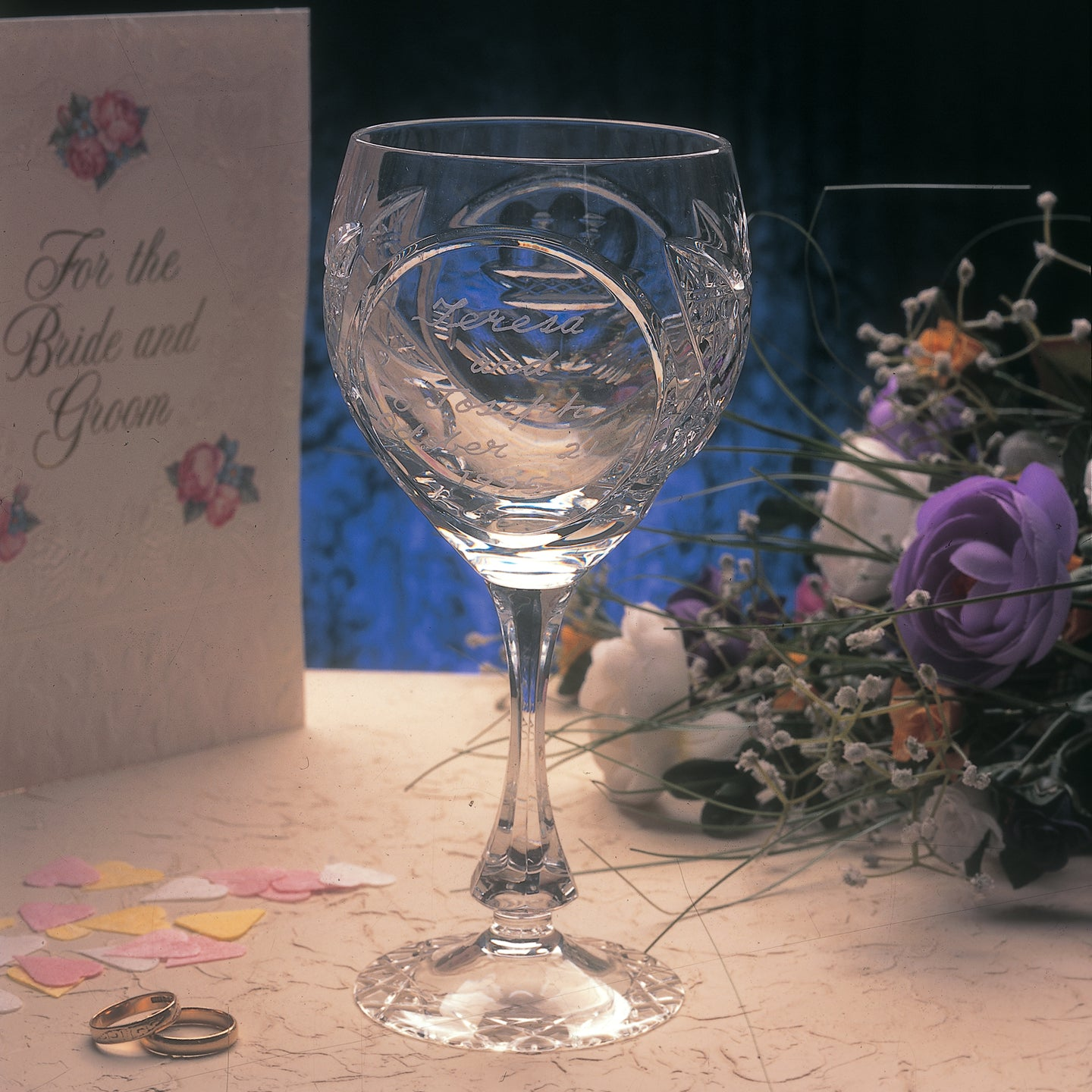 Claddagh Crystal Wedding Chalice