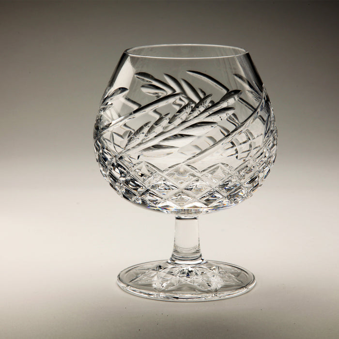 Wheat Crystal Brandy Snifter