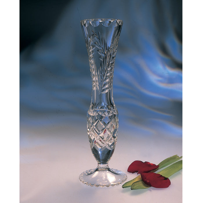 Wheat Bud Crystal Vase