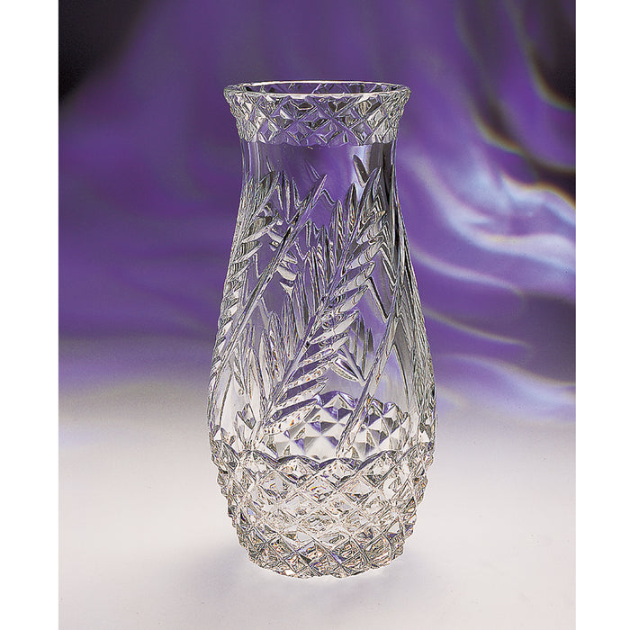 Wheat Crystal Flower Vase
