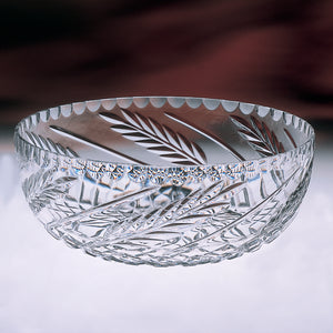 Claddagh Crystal Wheat Fruit Bowl