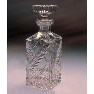 Wheat Crystal Whiskey Decanter