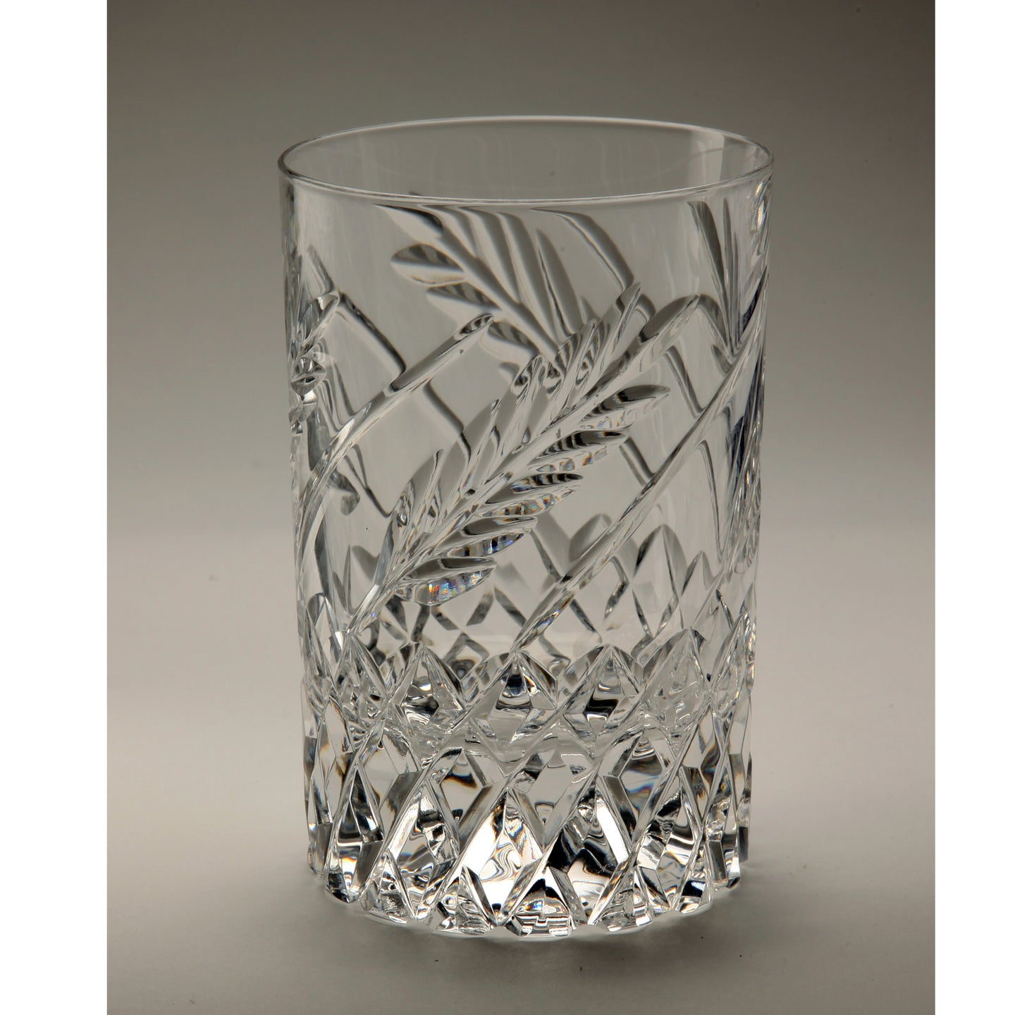 Wheat Crystal Whiskey Glass