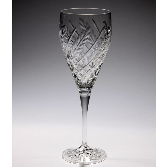 Wheat Crystal Wine Glass