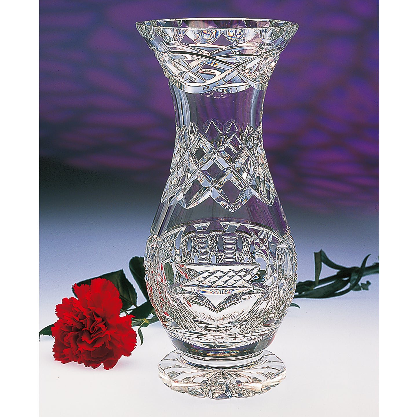 Claddagh Footed Vase