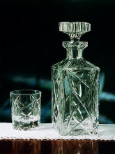 Old Celtic Crystal Spirit Decanter