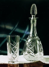 Old Celtic Crystal Wine Decanter