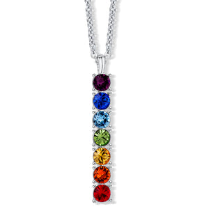 Rainbow Bar Pendant