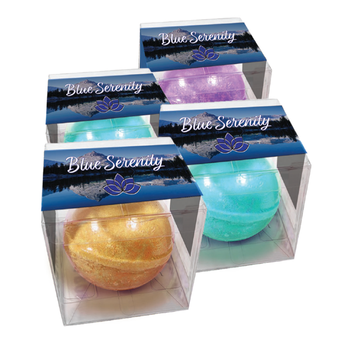 Blue Serenity Bath Bombs