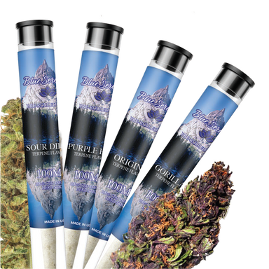 Blue Serenity CBD Infused Pre-Rolled Joints