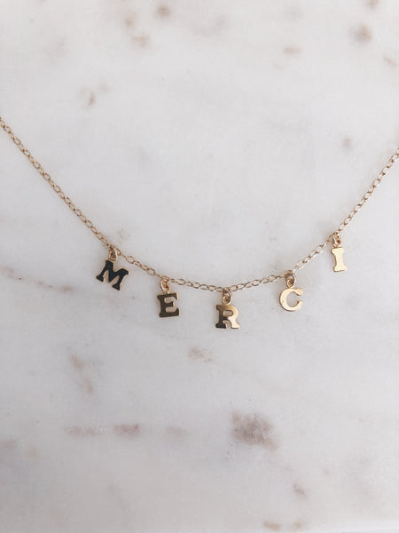 Keep It Real Charmed Necklace