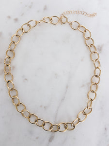 14k Gold Filled Double Curb Chain Necklace