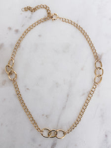 14K Gold Filled Chunky Chain Necklace