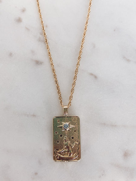 The Star Tarot Pendant Necklace