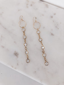 Swarovski Crystal Duster Earrings