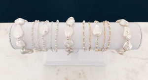 Freshwater Coin Pearl Bracelet...Featured in Vanity Fair
