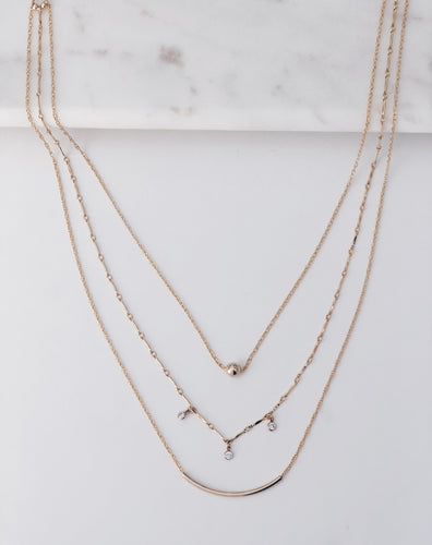 The Mel...14k Gold Filled Layered Necklace
