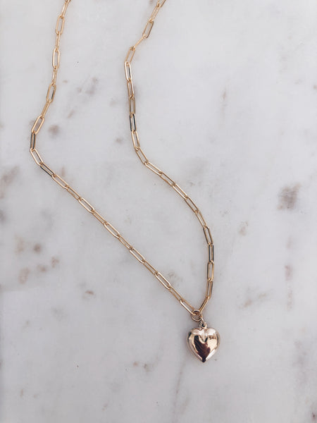 The Heartbreaker Link Necklace