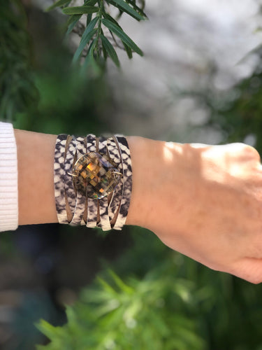 The Goddess Leather Wrap