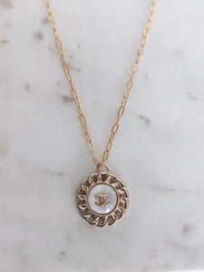 Repurposed Vintage Designer Necklace